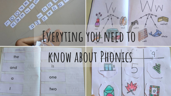 Types of Phonics and Terminologies used in Phonics