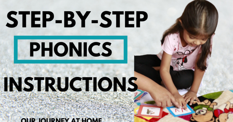 Step by Step Phonics  Instructions for Parents
